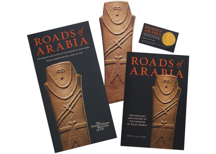 Roads of Arabia Exhibition Materials