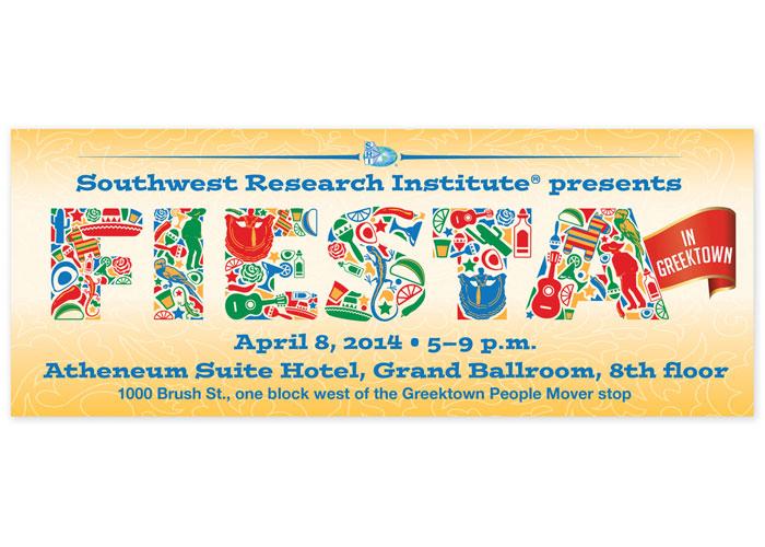 Fiesta in Greektown Invitation