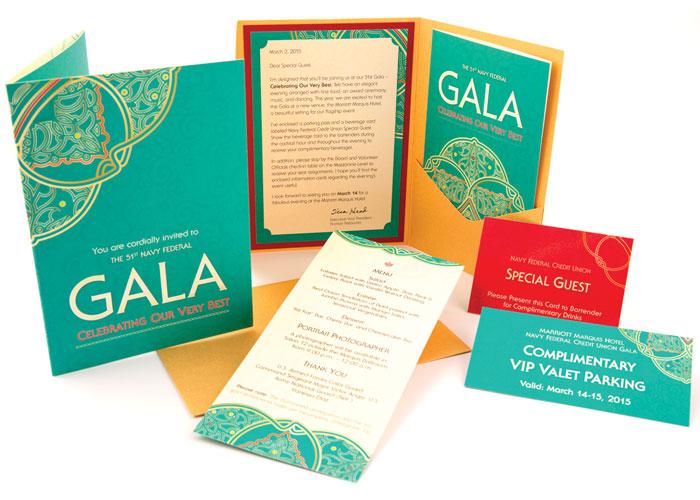 The 51st Annual Gala Invitation