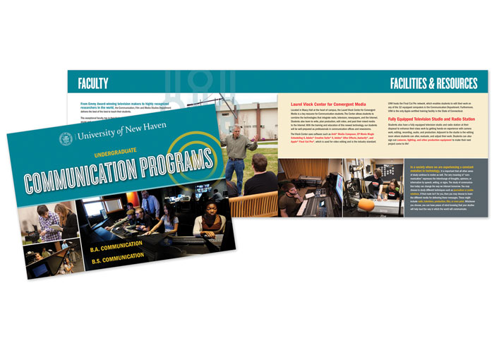 Communications Program Brochure and Mailer
