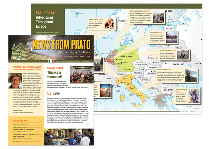 News From Prato Newsletter