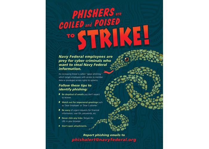 Phishing Alert Poster