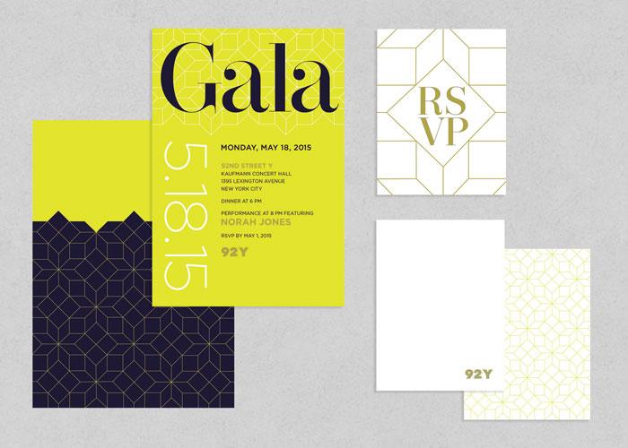 92Y 2015 Gala Invitation