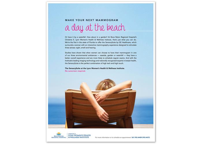 Beach Mammo SensorySuite Advertisement