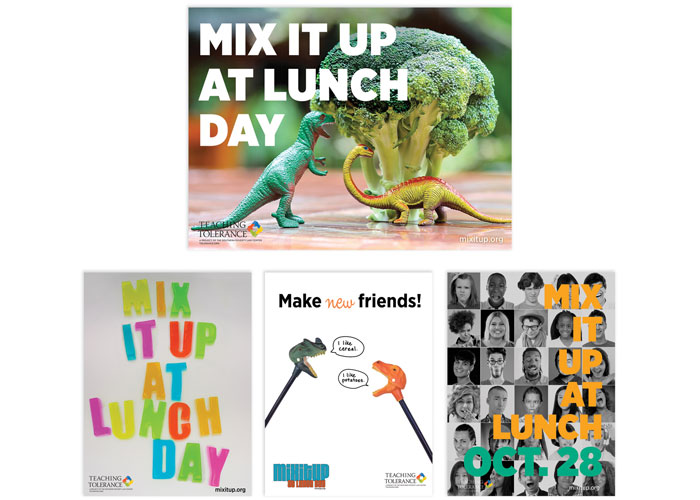 Mix It Up At Lunch Day Posters