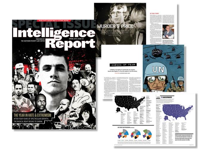 Intelligence Report Magazine, Spring 2014