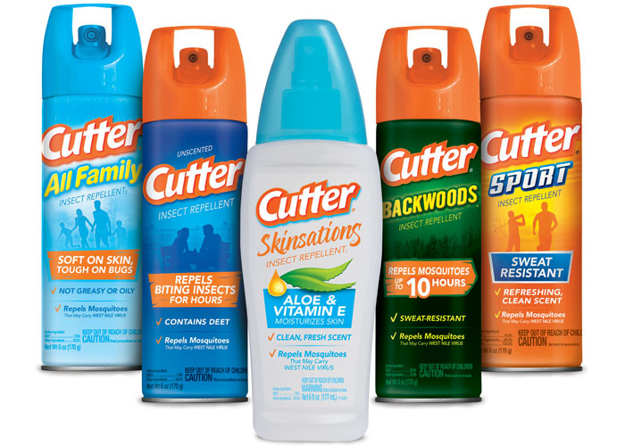 Cutter® Insect Repellent Redesign