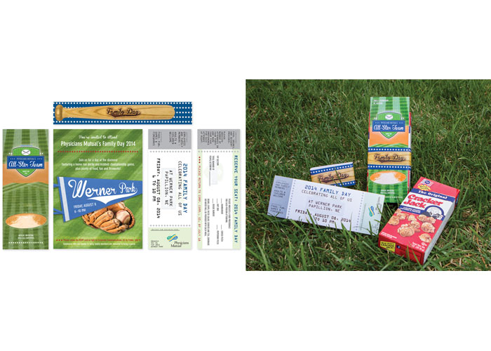 Family Day Invitations and Collateral 2014 Creative Director: Ronda Scripter