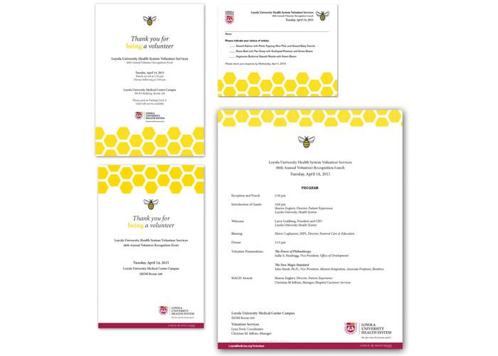 Volunteer Luncheon Invitation Package