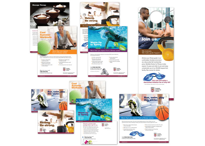 Gottlieb Center for Fitness Quarterly Campaigns
