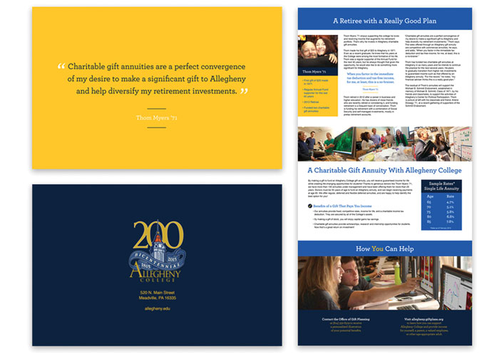 Charitable Gift Annuities Brochure