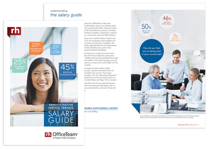 OfficeTeam Salary Guide 2015