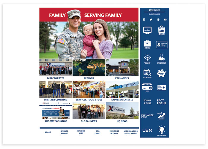 AAFES Portal Redesign
