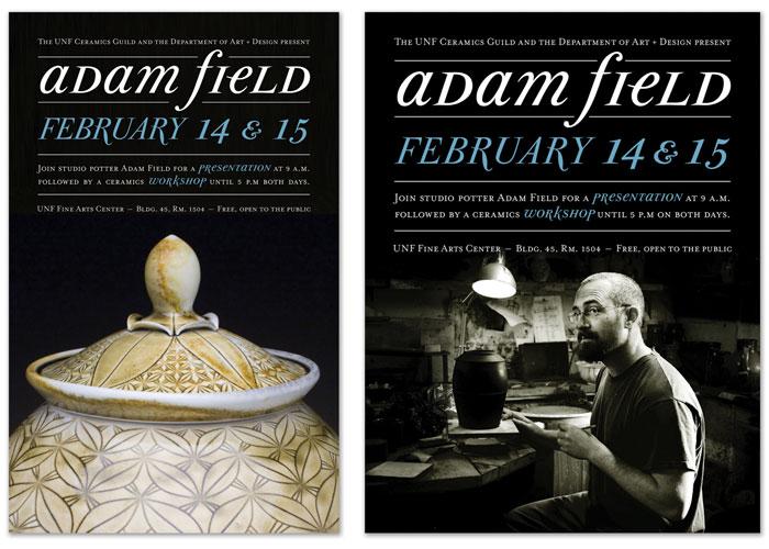 Adam Field Poster Series