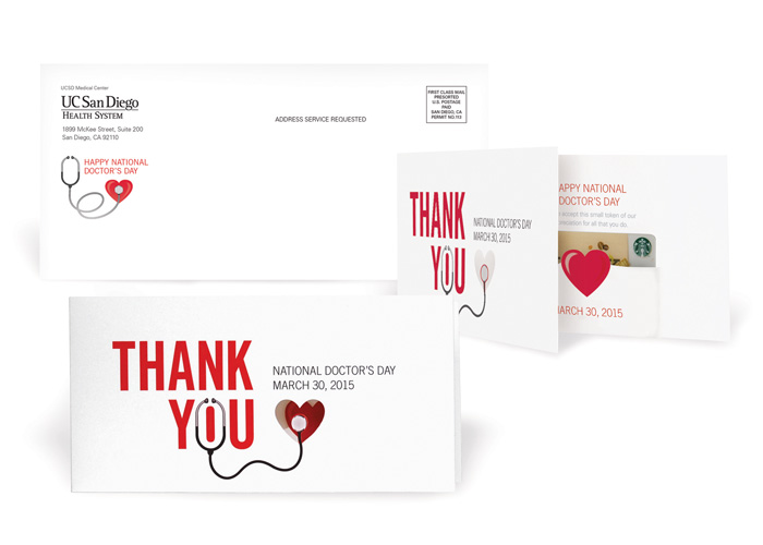 National Doctors Day - Thank You Card