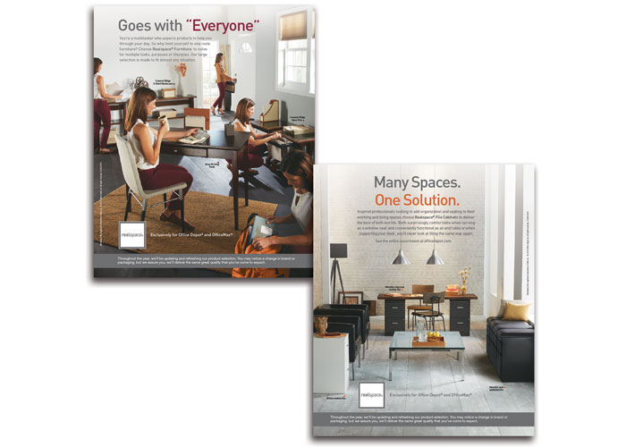 Realspace Furniture & Filing Advertisements