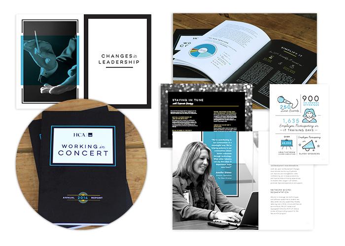 HCA IT&S Annual Report: Working in Concert