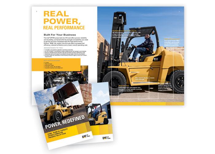CAT® Lift Trucks Product Brochures