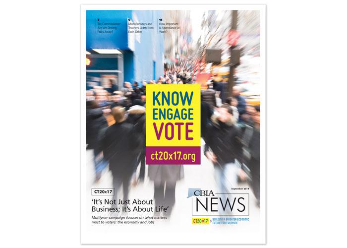 CBIA News - September 2014 Cover Design