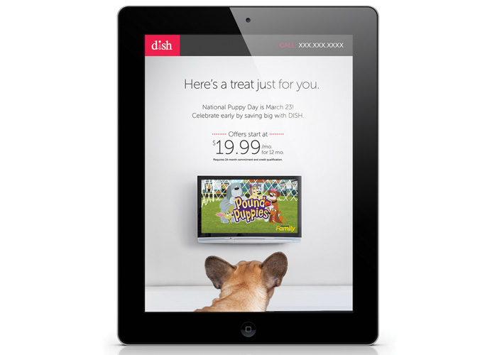 Digital Advertisements/Puppy