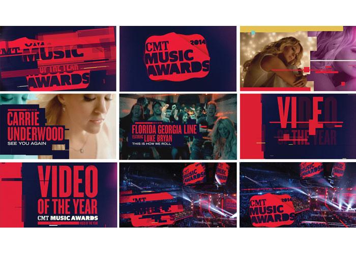 2014 CMT Music Awards On-Air Design