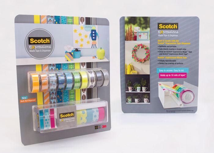 Scotch® Expressions Multi-Roll Dispenser Club Pack