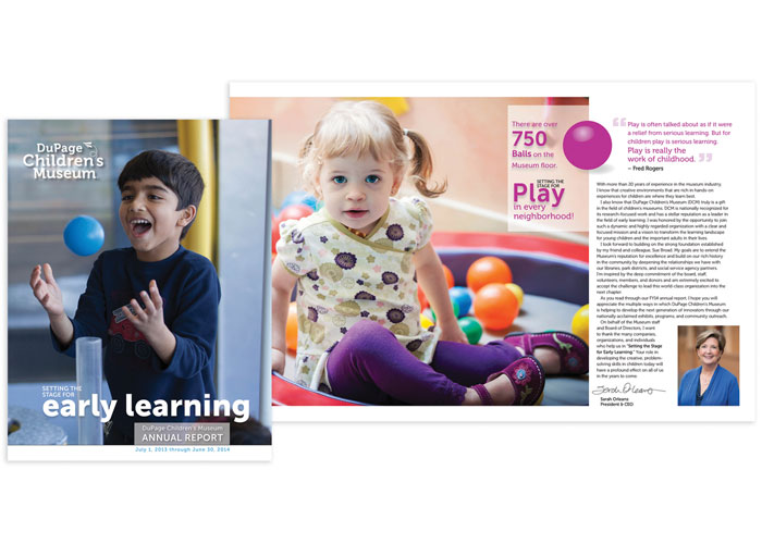 Setting the Stage for Early Learning Annual Report
