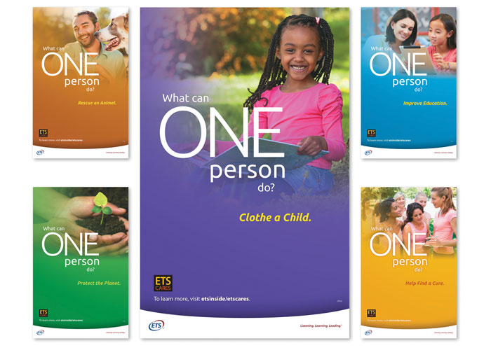ETS Cares Poster Series