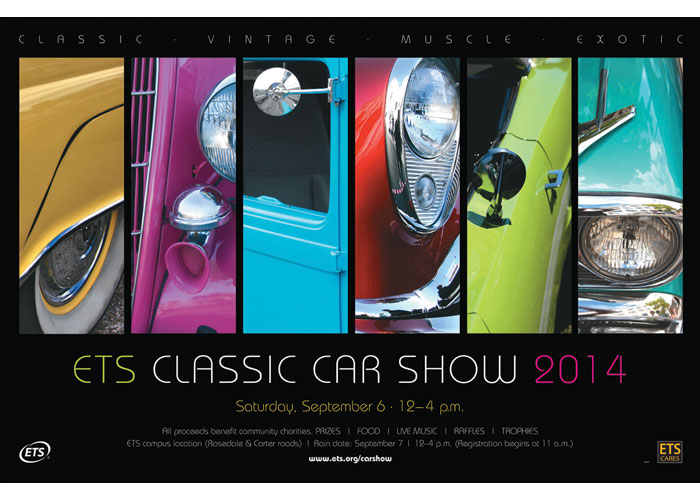 ETS Classic Car Show Poster
