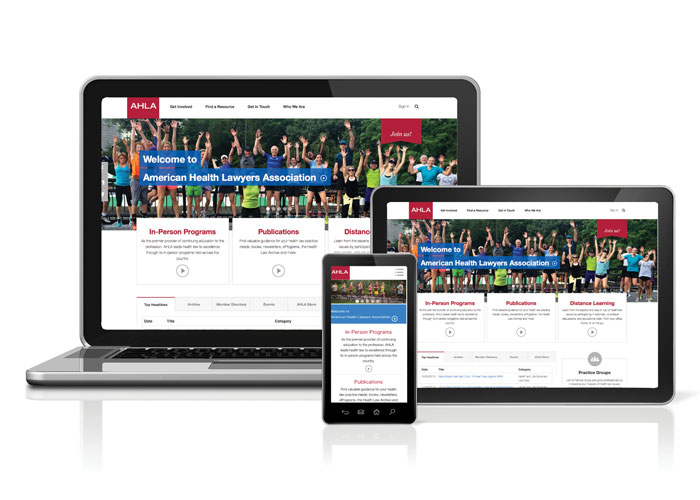 AHLA Website Redesign