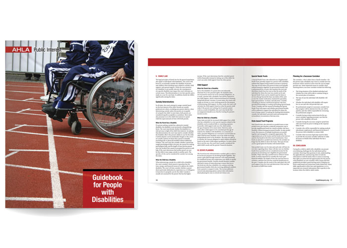 AHLA Guide for People With Disabilities by American Health Lawyers Association