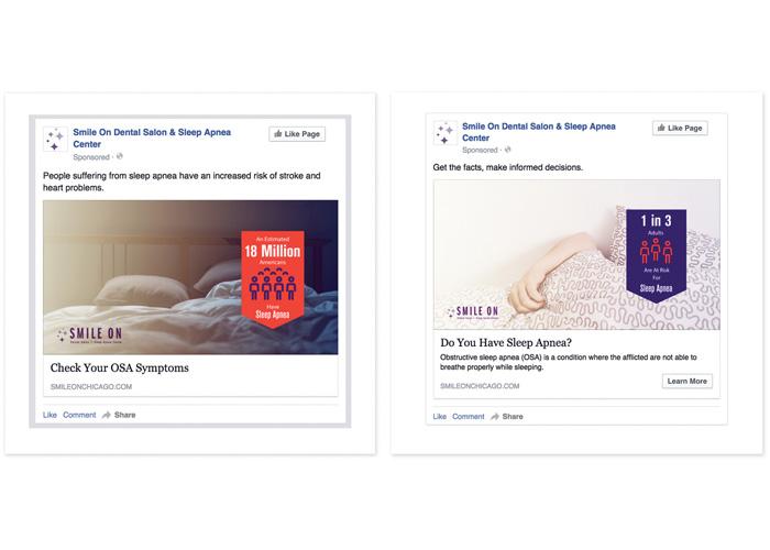 Sleep Apnea Facebook Campaign