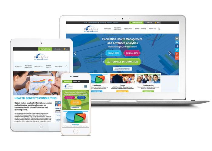 Populytics Website Design