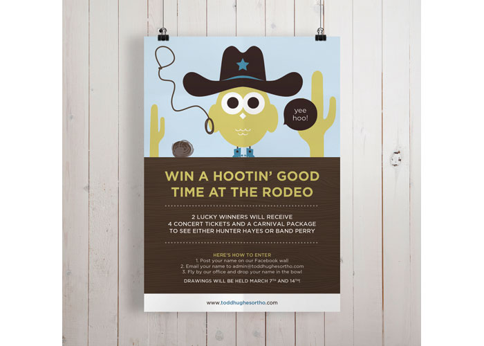 Houston Rodeo Promotion Poster