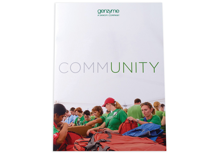 Genzyme Community Brochure