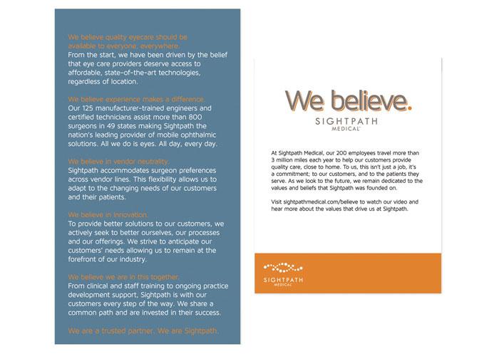 We Believe Kit
