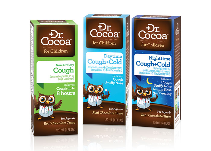 Dr. Cocoa Packaging