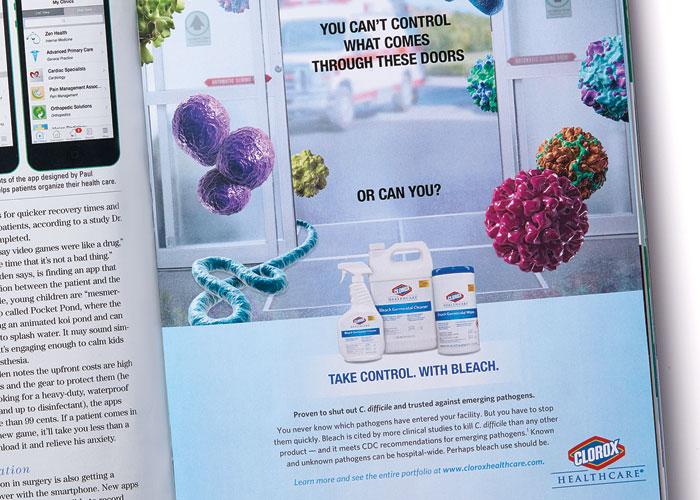 Clorox Healthcare Germicidal Bleach Campaign