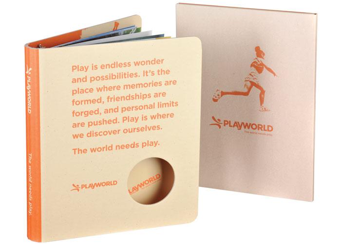 Playworld Binders and Tabs