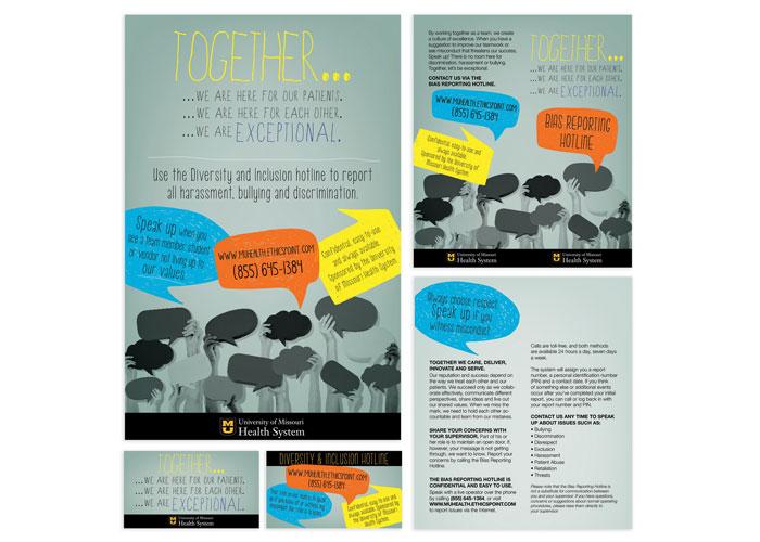 Diversity & Inclusion Hotline Brochure Set