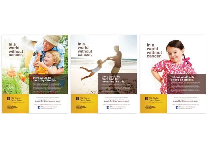 MU Ellis Fischel Cancer Center - A World Without Cancer Magazine Advertising Series