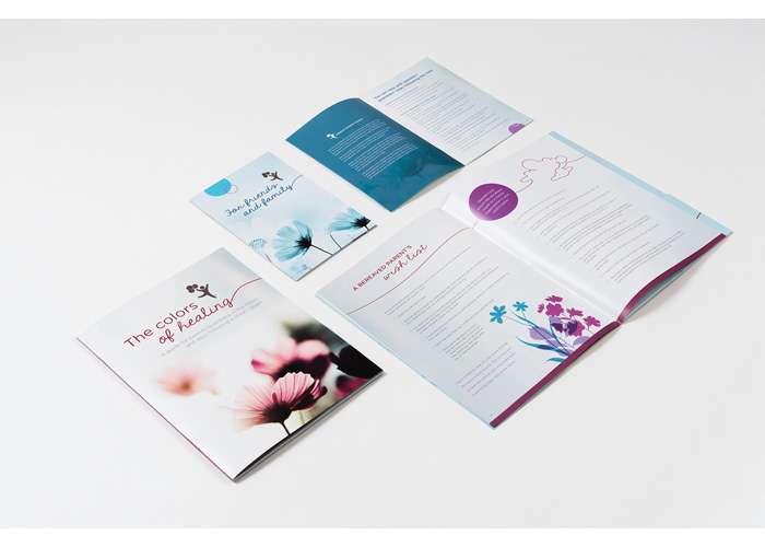 The Colors of Healing Bereavement Packet
