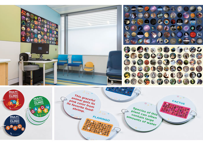 Patient Room Wallscapes and Activity Books