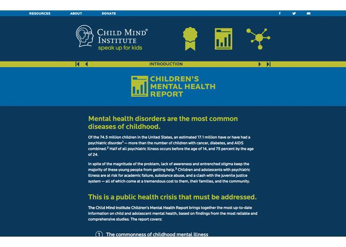 Child Mind Institute Speak Up For Kids Website