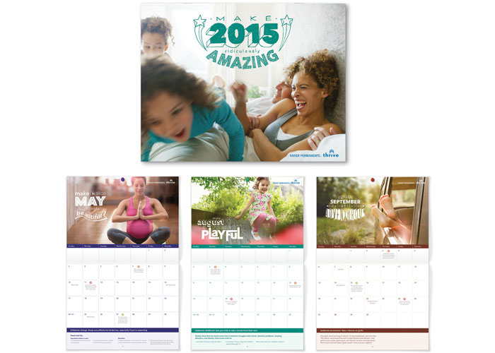 2015 Thrive Calendar