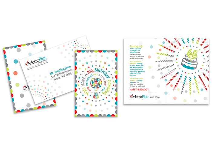 MetroPlus Seamless Medicare Enrollment Birthday Card