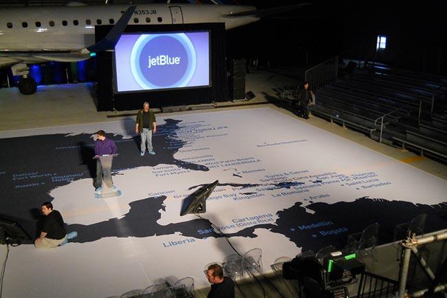 JetBlue-Map