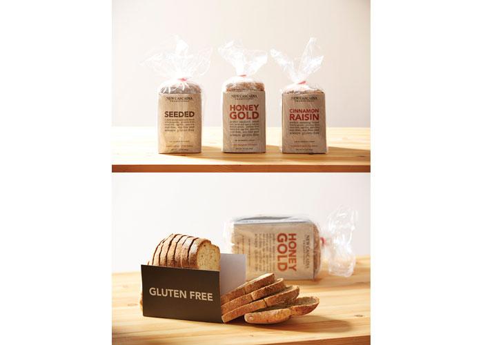 New Cascadia Sliced Bread Packaging by Huen