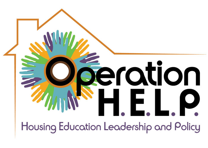 Operation H.E.L.P. Collaborative Project Logo by Innovative Design & Graphics