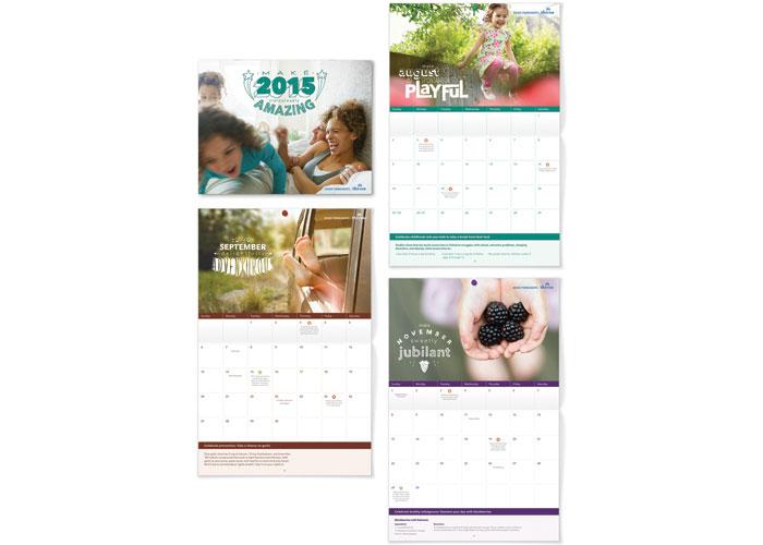 Kaiser Permanente 2015 Thrive Calendar by Kaiser Permanente